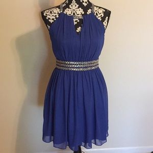 Gianni Bini royal blue size small cocktail dress